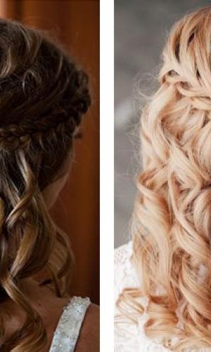 Стрижки, укладки, плетение кос 1
